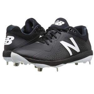 New Balance Men's L4040v4 Metal Baseball Shoe 14 D
